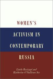 Cover of: Women's activism in contemporary Russia