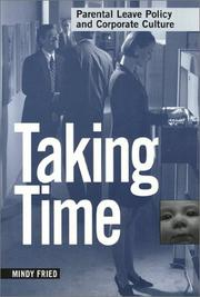 Cover of: Taking time