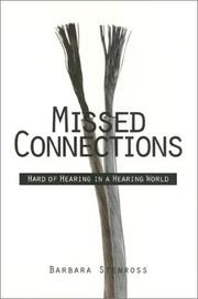 Cover of: Missed connections