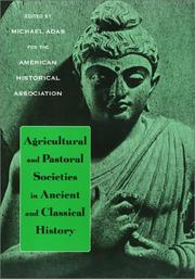 Cover of: Agricultural & Pastoral Societies