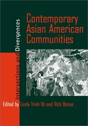Cover of: Contemporary Asian American communities |