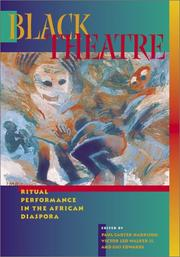 Cover of: Black theatre |