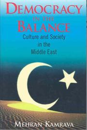 Cover of: Democracy in the balance | Mehran Kamrava