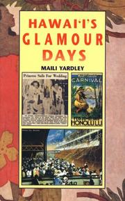 Cover of: Hawai'i's glamour days