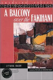 Cover of: A Balcony over the Fakihani (Emerging Voices)