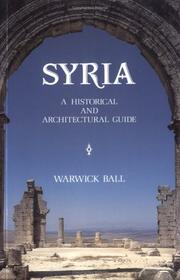 Syria by Warwick Ball
