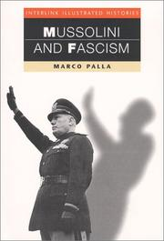 Cover of: Mussolini and fascism