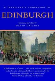 Cover of: A Traveller's Companion to Edinburgh (Traveller's Companions)
