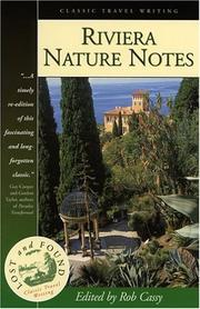 Riviera Nature Notes (Lost and Found Series) by G. E. Comerford Casey, Rob Cassy