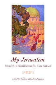 Cover of: My Jerusalem |