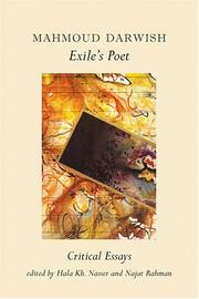 Cover of: Mahmoud Darwish, Exile