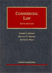Cover of: Commercial law