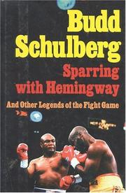 Cover of: Sparring with Hemingway
