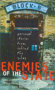 Cover of: Enemies of the State | Donald T. Critchlow