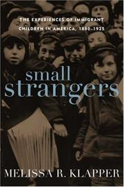 Cover of: Small Strangers | Melissa R. Klapper