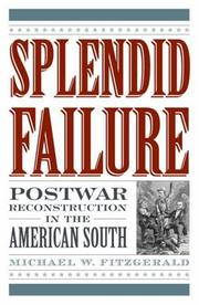 Cover of: Splendid Failure | Michael W. Fitzgerald