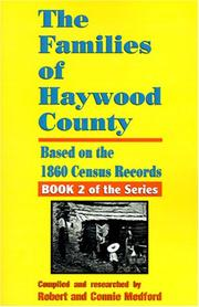 The families of Haywood County, North Carolina