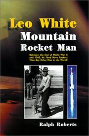 Cover of: Leo White
