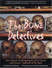 Cover of: Bone Detectives