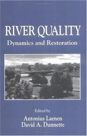 Cover of: River quality |