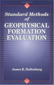 Cover of: Standard methods of geophysical formation evaluation