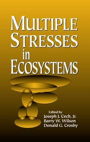 Cover of: Multiple stresses in ecosystems |