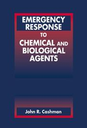 Cover of: Emergency response to chemical and biological agents