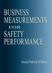 Cover of: Business Measurements for Safety Performance | Daniel Patrick O