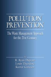 Cover of: Pollution prevention | R. Ryan Dupont