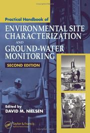 Cover of: Practical Handbook of Environmental Site Characterization and Ground-Water Monitoring