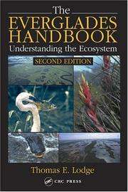 The Everglades Handbook by Thomas E. Lodge