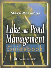 Lake and pond management guidebook by Steve McComas