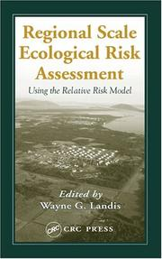 Cover of: Regional-Scale Risk Assessment | Wayne G. Landis