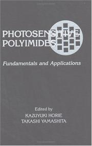 Cover of: Photosensitive polyimides |