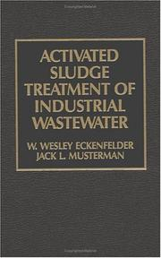 Cover of: Activated Sludge | Wesley Eckenfelder