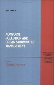 Cover of: Nonpoint pollution and urban stormwater management |