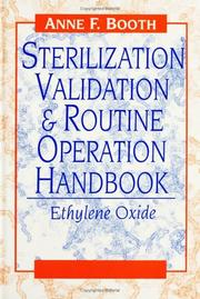 Cover of: Sterilization validation & routine operation handbook