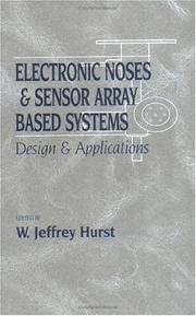 Cover of: Electronic noses & sensor array based systems