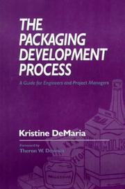 Cover of: The packaging development process
