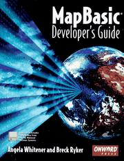 Cover of: MapBasic developer