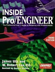 Cover of: Inside Pro/Engineer | James Utz