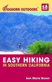 Cover of: Foghorn Outdoors Easy Hiking in Southern California (Foghorn Outdoors)