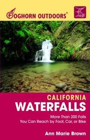 Cover of: Foghorn Outdoors California Waterfalls