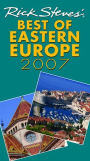 Cover of: Rick Steves' Best of Eastern Europe 2007 (Rick Steves) | Rick Steves, Cameron Hewitt