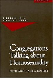 Cover of: Congregations Talking About Homosexuality