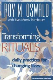 Cover of: Transforming rituals: daily practices for changing lives