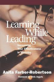 Cover of: Learning while leading
