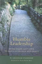 Cover of: Humble leadership