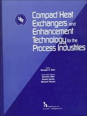 Cover of: Compact heat exchangers and enhancement technology for the process industries