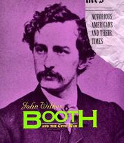 Cover of: John Wilkes Booth and the Civil War